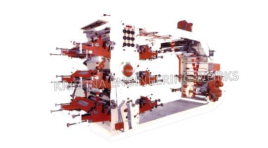 Maquina de Impresora de Flexo
