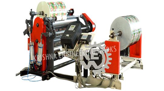 Maquina de Rebobinadora de la cortadora